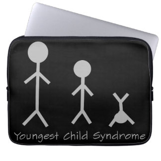 Youngest child syndrome laptop sleeve