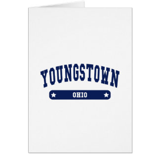 Youngstown Ohio College Style tee shirts Cards