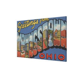 Youngstown, Ohio - escenas grandes de la letra Impresiones De Lienzo