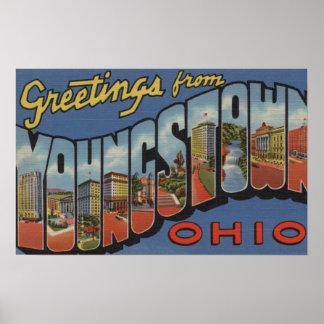 Youngstown, Ohio - escenas grandes de la letra Posters