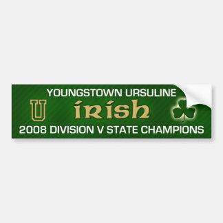 Youngstown Ursuline Bumper Sticker