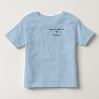 Youngstown/Warren Playgroup Blue Toddler Tee