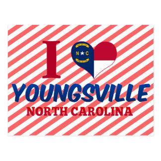 Youngsville, North Carolina Postcard