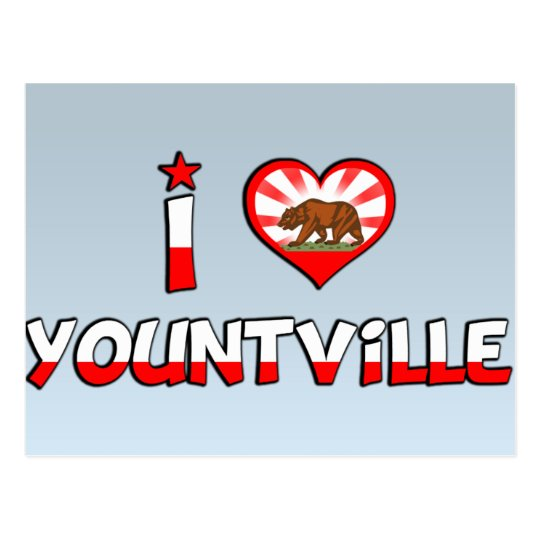 Yountville, CA Postcard