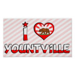 Yountville, CA Print