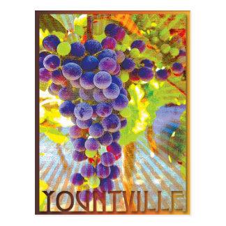 Yountville, California Postcard