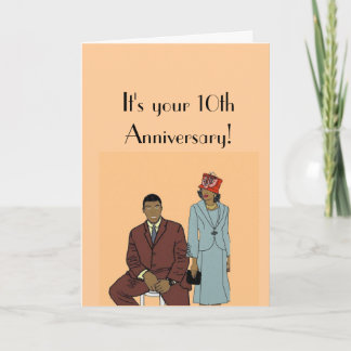 Your 10th anniversary card