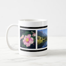 Your 4 Fave Photos Custom Instagram Pics Coffee Mug at Zazzle