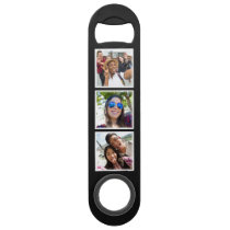 YOUR 6 Instagram Photos custom bottle opener