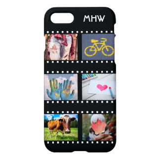 YOUR 6 PHOTOS & MONOGRAM custom phone cases