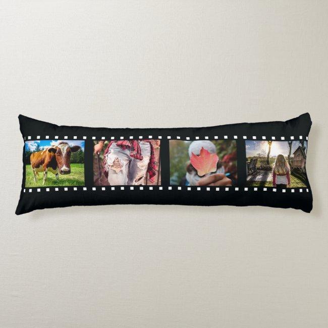 YOUR 8 PHOTOS custom template body pillow