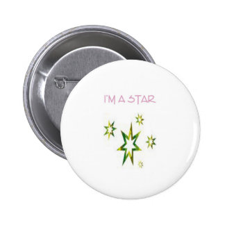 YOUR A STAR BADGE PINBACK BUTTON