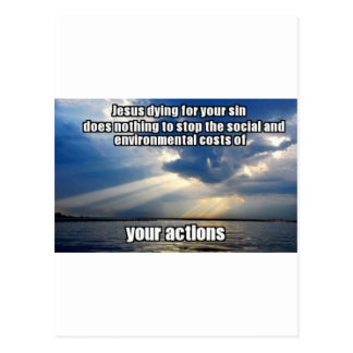 Your Actions Postcard