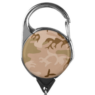 Your Amazing Desert Camouflage Colors Badge Holder