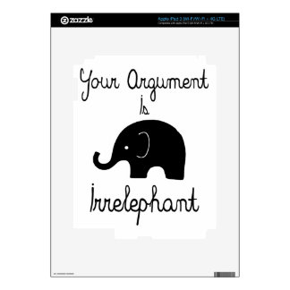Your Argument Is Irrelephant iPad 3 Skins