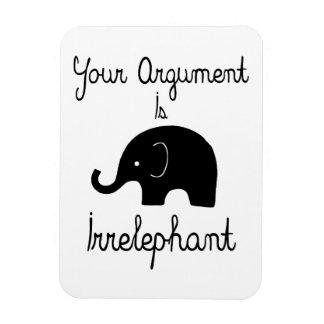 Your Argument Is Irrelephant Magnet