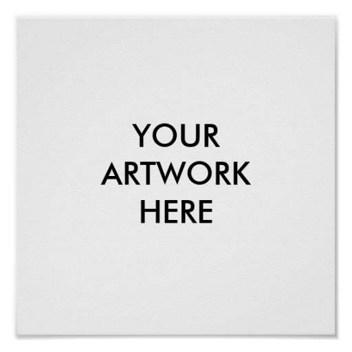 Your artwork here poster