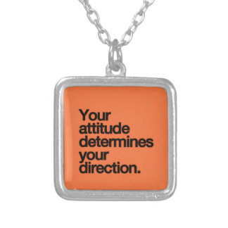 YOUR ATTITUDE DETERMINES YOUR DIRECTION MOTIVATION CUSTOM JEWELRY
