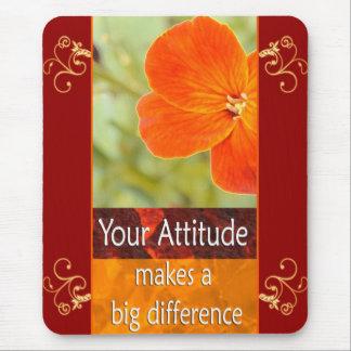 Your Attitude - Motivational Mousepad