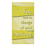 Your Attitude Motivational Poster