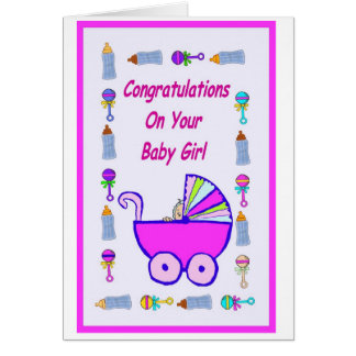 Your Baby Girl Card