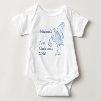 Your Baby Name 1st Christmas 2010 Baby T-shirt