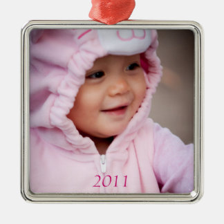Your baby on a premium ornament