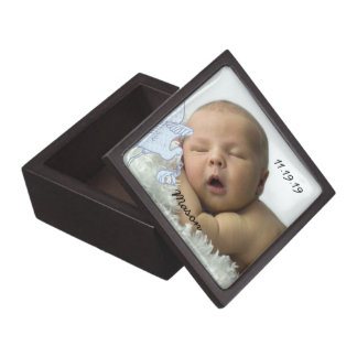 Your Baby Photo or Children's Photos Keepsake Box