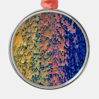 Your Background Custom Premium Round Ornamen Metal Ornament