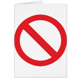 Your Banned!!! Card