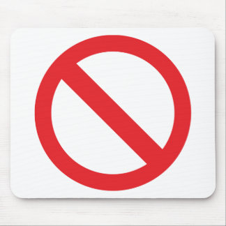Your Banned!!! Mouse Pad