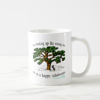 your barking up the wrong tree coffee mug