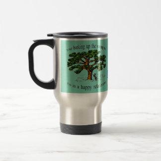 your barking up the wrong tree travel mug
