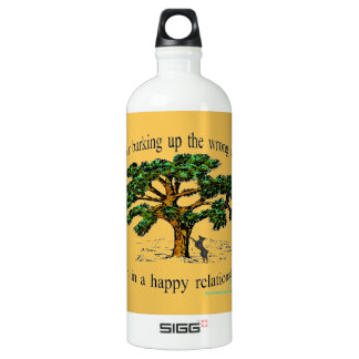 your barking up the wrong tree water bottle
