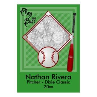 Your Baseball Trading Card profilecard