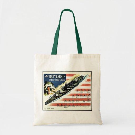 Your Battleship Canvas Bags