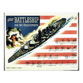 Your Battleship Personalized Announcements