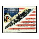 Your Battleship Postcard