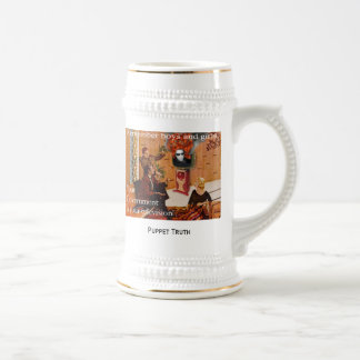 Your Beer Stein, Puppet Truth Coffee Mugs