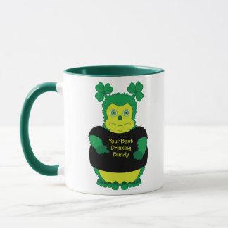 Your best drinking buddy - Irish mug for St. Pat's
