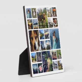 Your Best Photos Customized Template Photo Plaque