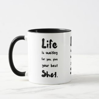 """Your Best Shot"" - Mug"
