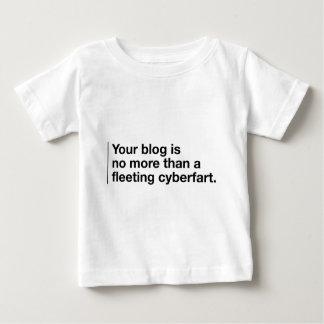 Your Blog is a Cyberfart T Shirt