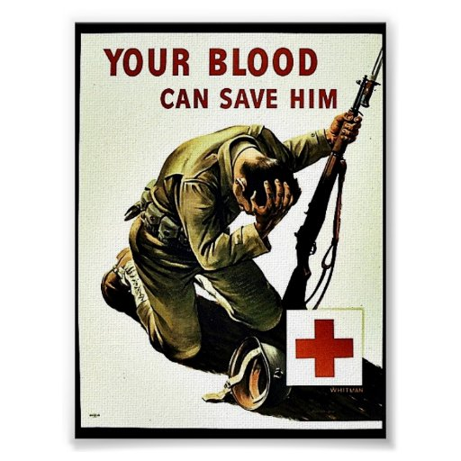 Your Blood Can Save Him Posters