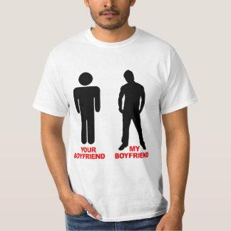 Your Boyfriend. My boyfriend. Tee Shirts