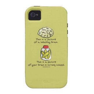 Your Brain in Nursing School iPhone 4 Cases