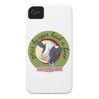 Your Burger Had a Face iPhone 4 Case-Mate Cases
