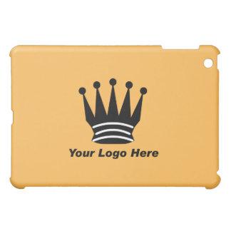 Your business brand logo custom orange  iPad mini case