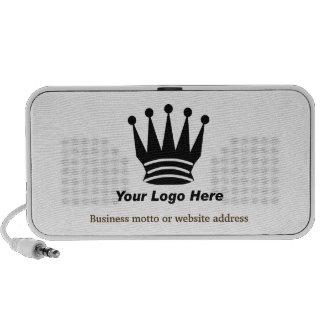 Your business brand logo custom portable speaker