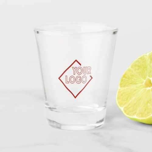 Your Business Corporate Brand Logo Personalized Shot Glass